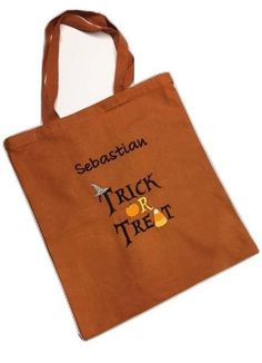 Halloween Bags Personalized Halloween Bags Personalized
