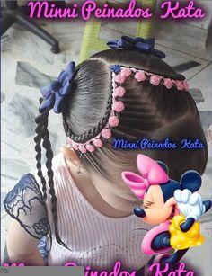 @minnipeinadoskata Little Girl Braids, Girls Braids, Little Girl Hairstyles, Boy Hairstyles, Pinterest Design, Hair Dos For Kids, Long Hair Designs, Natural Hair Styles, Short Hair Styles