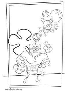 76 Spongebob Superhero Coloring Pages For Free