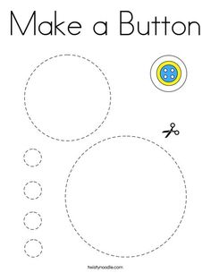 Make a Button Coloring Page - Twisty Noodle Physical Education Games, Health Education, Physical Activities, People Coloring Pages, Cutting Practice, Dementia Activities, Brain Gym, Team Building Activities, Gross Motor Skills