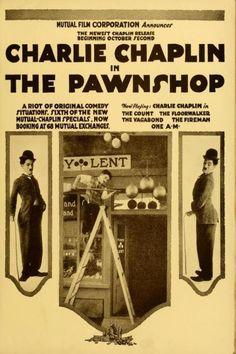 """Poster for the movie """"The Pawnshop"""""""
