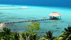 Seven Color Lagoon in Bacalar