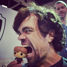 Peter Dinklage poses with Tyrion