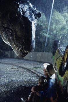 I'll never forget the day we took @Hannah Sheesley to watch Jurassic Park and she cried like a girl.