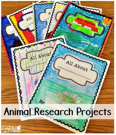 Students choose an animal to research and become experts! Great project before a field trip to the zoo.