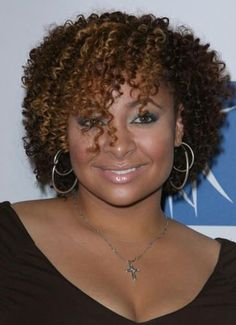 Curly Hairstyles For Black Women With Round Face ~ http://wowhairstyle.com/curly-hairstyles-for-black-women/