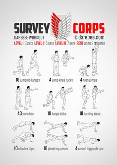"""tachipaws: """"sgtannie: """"damn anime inspired workouts just gonna leave these here for all the weeaboos, otakus and anyone else (myself included) in need of an at home workout """" Is it bad that this will. - putting exercises at home. How To Putt Properly Neila Rey Workout, Gym Workout Tips, Workout Challenge, Workout Videos, Fun Workouts, At Home Workouts, Workout Fitness, Fitness Motivation, Assassins Workout"""