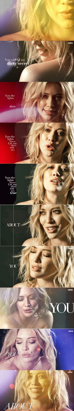 """We are """"all about"""" Hilary Duff on #NOW52 #WhatsNext"""