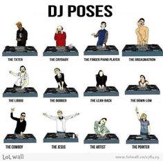 Dj poses. #djculture #djart #djposes http://www.pinterest.com/TheHitman14/dj-culture-vinyl-fantasy/