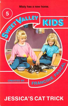 """Sweet Valley Kids #5: """"Jessica's Cat Trick"""" - UK edition"""