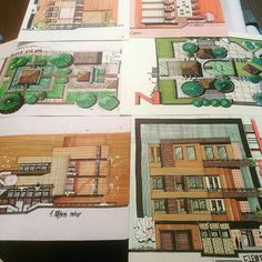 Architecture Plan, Landscape Architecture, Hand Sketch, Vintage World Maps, Layout, House Design, How To Plan, Drawings, Princess