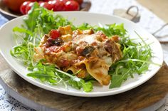 Lasagne kan faktisk veldig gjerne lages i vegetarform, helt uten så mye som duften av