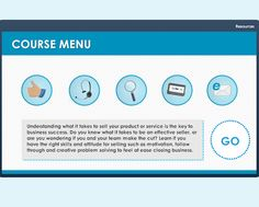 Drag-and-Drop Menu - Add some extra interaction to course navigation with this drag-and-drop menu freebie.