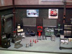 Another amazing car garage diorama