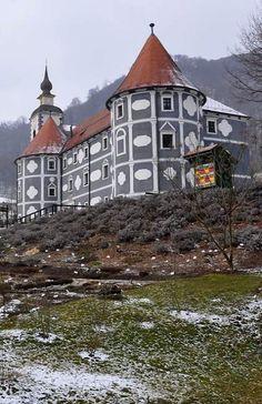 Monastery Castle in Olimje, Slovenia