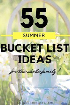 Summer Bucket List I