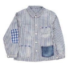 wabash stripe utility jacket: Porter Classic SS11