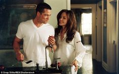 The first time's the charm: It would have been the third time the couple had worked together after finding success with the 2005 film Mr. and Mrs. Smith (above)
