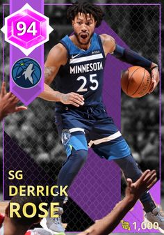 eed62b700d0f (7) Derrick Rose - NBA 2K18 Custom Card - 2KMTCentral Baloncesto