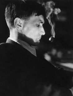 Antonin Artaud, 1931, photo by Raymond Voinquel...French playwright, poet, actor.  (1896-1948)