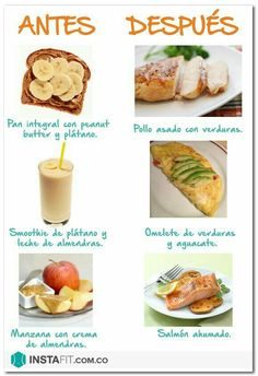nutrition - 65 Trendy Fitness Cuerpos Antes Y Despues fitness Healthy Tips, Healthy Snacks, Healthy Eating, Healthy Recipes, Gym Food, Food Workout, Fitness Nutrition, Healthy Lifestyle, Food Porn