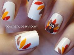 Thanksgiving nail - it's happening!