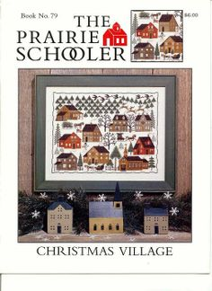 PRAIRIE SCHOOLER CHRISTMAS VILLAGE 01
