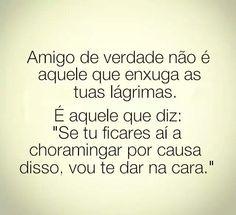Amizade é assim mesmo! ♥
