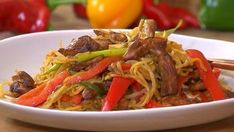 Ditch the takeaway and make your own version at home with Ching He Huang& Chinese chicken chow mein recipe. Chef Recipes, Asian Recipes, Cooking Recipes, Healthy Recipes, Ethnic Recipes, Chinese Recipes, Chinese Chicken Chow Mein Recipe, Ching He Huang Recipes, Kitchens