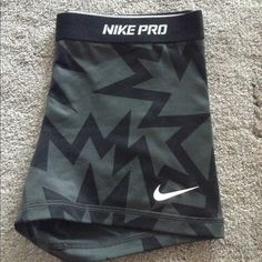 "Nike pro spandex Rare ""kappow"" print Nike pros size large worn and tried on for about 3hours and I don't wear them anymore offers and trades welcome  Nike Shorts"
