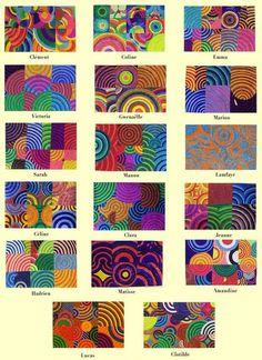 Géométrie et arts visuels Group Art Projects, School Art Projects, Club D'art, Pop Art, Ecole Art, Math Art, Principles Of Art, Art Academy, Collaborative Art