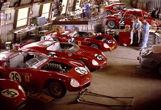 Ferrari Garage- Sebring 1962