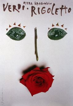 Rigoletto - Verdi, Polish Opera Poster, Tomasz Boguslawski