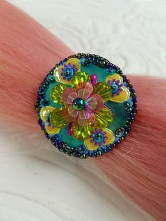Check out this item in my Etsy shop https://www.etsy.com/nz/listing/501299182/bright-and-colorful-sequin-hair-tie-hair