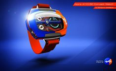 Alpine A110-50 Concept Watch de Benjamin Garson