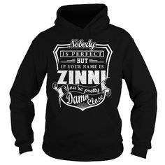 Awesome Tee ZINNI Pretty - ZINNI Last Name, Surname T-Shirt Shirts & Tees