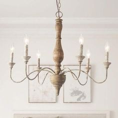 Quick Methods For Easy French Country Decor Inspiration For 2012 - Look And Decor French Country Lighting, French Country Chandelier, French Country Rug, French Country Kitchens, Farmhouse Chandelier, White Chandelier, French Country Bedrooms, Wood Chandelier, French Country Decorating