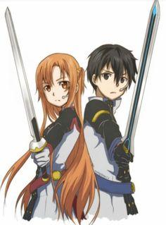 Asuna and Kirito, this is awesome!
