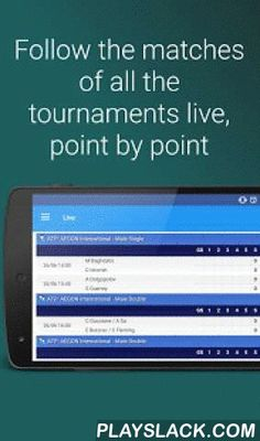 Tennis Zone - London Masters  Android App - playslack.com , - See livescores of the tennis matches that are being playing on the most important tennis tournaments Barclays London- Set alerts and receive notifications for the matches of your favourite players!- Next matches- Played matches' results- News- Tournaments- Male and female Ranking