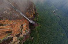 Angel Falls, Venezuela la haute cascade du monde