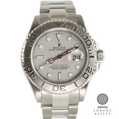 #Rolex #Yacht-Master Gents Stainless Steel Automatic #Watch