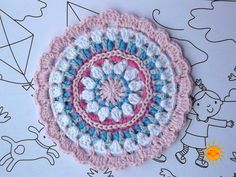 Ravelry: Little Spring Mandala pattern by Barbara Smith