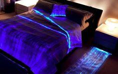 Luminous Fiber Optics Bed