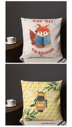Home Decor & Gifts for Kind Souls by AnaReads Book Lovers Gifts, Gift For Lover, Reading Room Decor, Free Poster Printables, Gifts For Librarians, Creative Studio, Cotton Tote Bags, Book Worms, Decorative Pillows