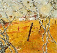 Peter Doig, Young Bean Farmer, 1991, Oil on canvas, 186 x 199 cm