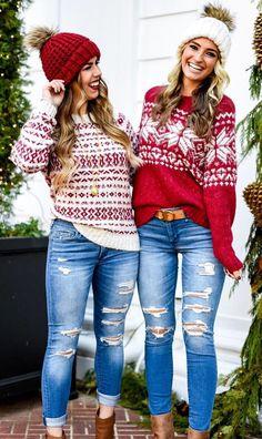 40 Winter Outfits - Set 2 -  winteroutfits  winterstyle  winterfashion  Navidad 1cd6ee4ed93b