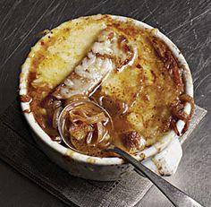 Classique soupe à l'oignon française