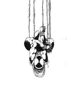 Scarlet Spider by ~Aresin on deviantART Marvel Vs, Marvel Heroes, Comic Books Art, Comic Art, Ben Reilly, Amazing Fantasy 15, Scarlet Spider, Steve Ditko, Comic Drawing