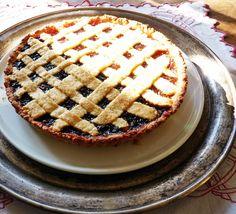 rakottkert: Crostata - az olasz linzertorta Winter Food, Apple Pie, Sweets, Blog, Apple Cobbler, Good Stocking Stuffers, Candy, Goodies, Treats