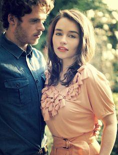 Richard Madden & Emilia Clarke